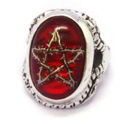 ALEX STREETER(アレックスストリーター)  ANGEL HEART RING THORN STAR RED エンジェルハートリング赤 ALR371TS