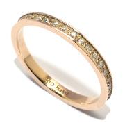 basis(ベイシス) bar012S-K10YG PAVE DIA ダイヤモンド