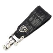 BWL(ビルウォールレザー)  BELT LOOP MOTOR CYCLE Chain Link / Aligator Leather BL102