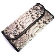 BWL(ビルウォールレザー)  Hybrid Wallet /Python Leather W976