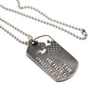 CHROME HEARTS(クロムハーツ)Dog Tag HEROSE PRJ  ヒーローズプロジェクト