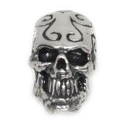 CRAZY PIG DESIGNS(クレイジーピッグ) トライバルスカルスタッドピアス Tribal Skull Stud #743