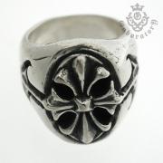Gaboratory(ガボラトリー) Cross oval signet ring クロスオーバルシグネットリング