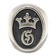 Gaboratory(ガボラトリー)Raised G Crown Signet Ring  レイズドGクラウンシグネットリング