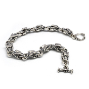 TRAVIS WALKER(トラヴィスワーカー)BRS111 Small Gargoyle Charm Bracelet