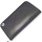 TRAVIS WALKER(トラヴィスワーカー) LA-TW-021 Round ZIP Wallet BK Cow ラウンドジップ ブラックカウレザー