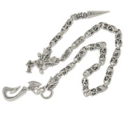 TRAVIS WALKER(トラヴィスワーカー) Hook 3Gargoyles w/Built in Wallet Hanger /Meat Links w/Dagger Wallet Chain  WCS016