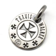 TRAVIS WALKER(トラヴィスワーカー) サーファーズクロスドッグタグ ペンダント【トップのみ】 DTS009