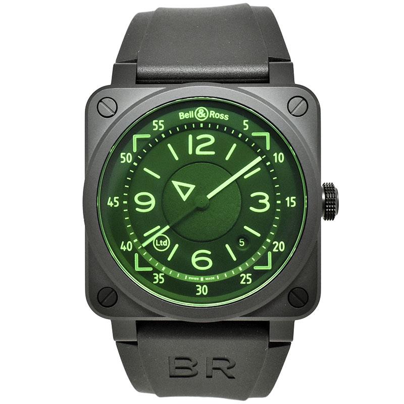 ベル&ロス BELL&ROSS BR03-92 HUD BR0392-HUD-CE/SRB セラミック 42mm 世界999本限定 新品