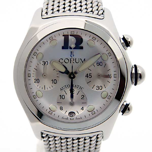 コルム CORUM バブル クロノグラフ 285.150.20 SS メンズ 45mm ホワイト 新品