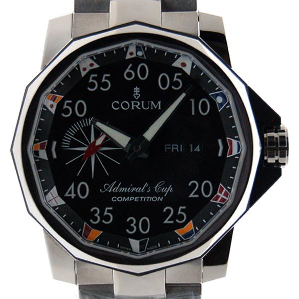 コルム CORUM アドミラルズカップ コンペティション48 947.931.04/V700 AN12  48mm SS ブラック 新品