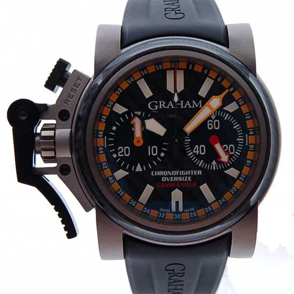 グラハム GRAHAM クロノファイター オーバーサイズ コマンダー 2OVATCO.B01A.K10B 47mm 新品