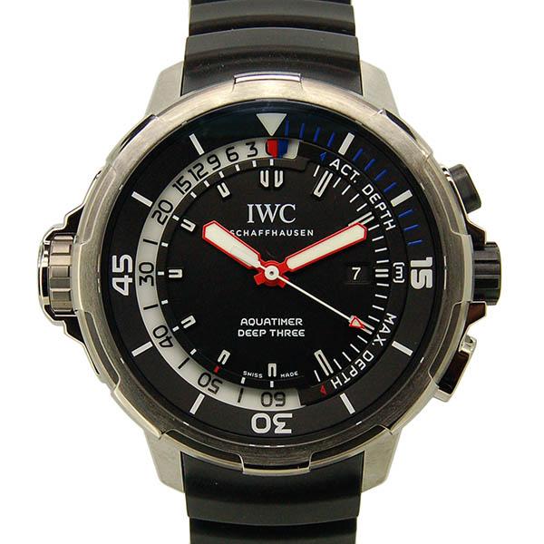 IWC アクアタイマー ディープスリー IW355701 46mm チタン 60m水深計 新品