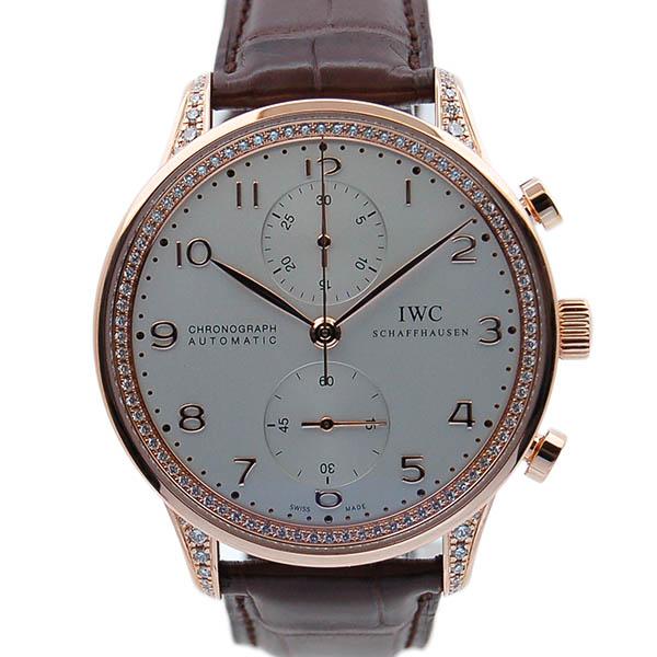 IWC ポルトギーゼ クロノグラフ ダイヤコレクション IW371486 ピンクゴールド 新品