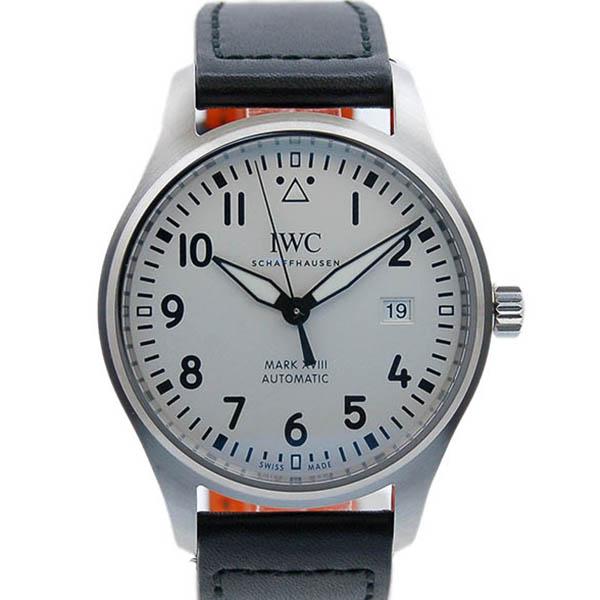 IWC パイロットウォッチ マーク18 IW327002 シルバー 革 新品