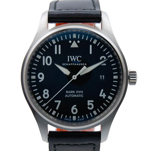 IWC パイロットウォッチ マーク18 IW327001 ブラック 革 新品