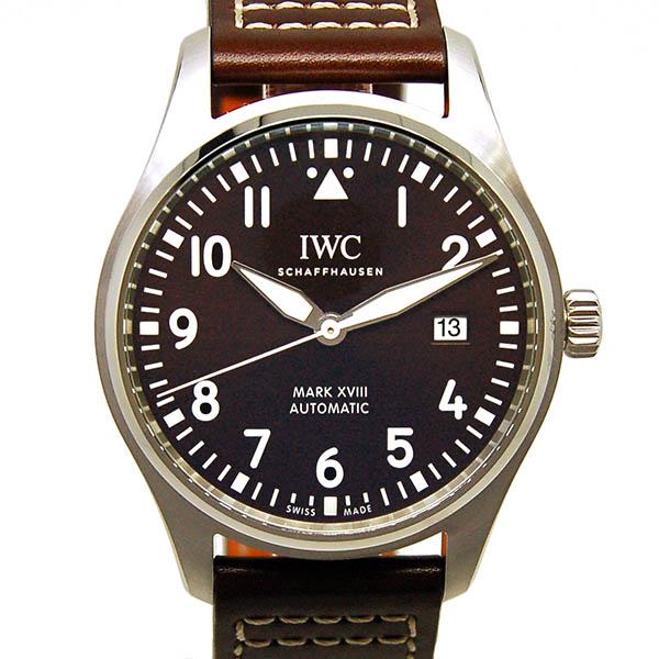 IWC パイロットウォッチ マーク18 アントワーヌ・ド・サンテグジュペリ IW327003 ブラウン 革 新品