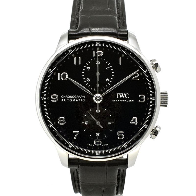 IWC ポルトギーゼ クロノグラフ IW371609 ブラック 41mm 新品