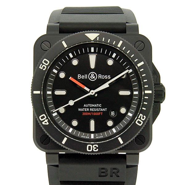 ベル&ロス BELL&ROSS BR0392-D-BL-CE/SRB BR03-92 ダイバー ブラックマット 42mm セラミック 新品