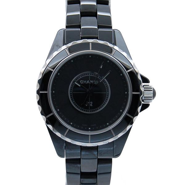 シャネル CHANEL J12 29mm インテンスブラック H4196 ブラック 新品