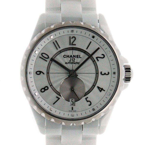 シャネル CHANEL J12-365 H3837 36.5mm スモールセコンド ユニセックス ホワイト 新品