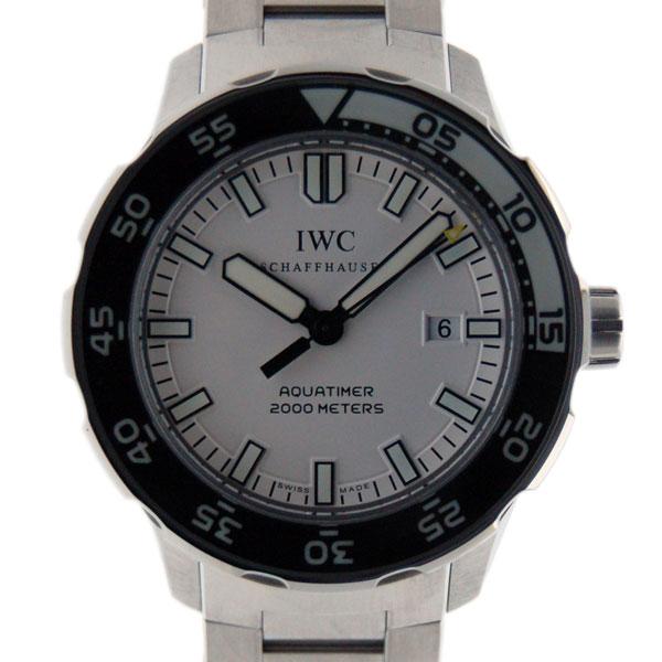 IWC インターナショナルウォッチカンパニー アクアタイマー IW356809 SS 自動巻 2000m防水 新品