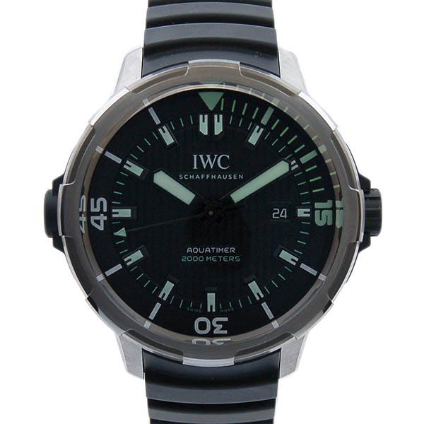 IWC インターナショナルウォッチカンパニー アクアタイマーオートマティック2000 IW358002 ブラック ラバー チタン 46mm 新品