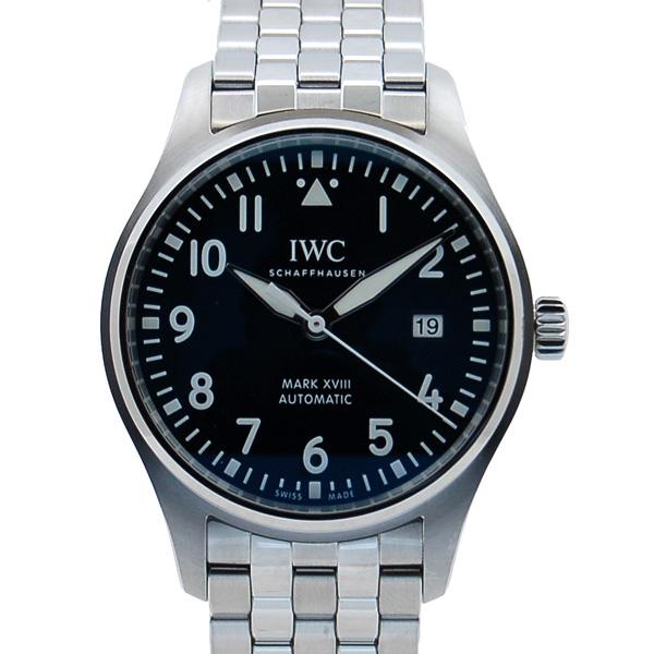 IWC パイロットウォッチ マーク18 プティ・プランス IW327014 ブルー 40mm 新品