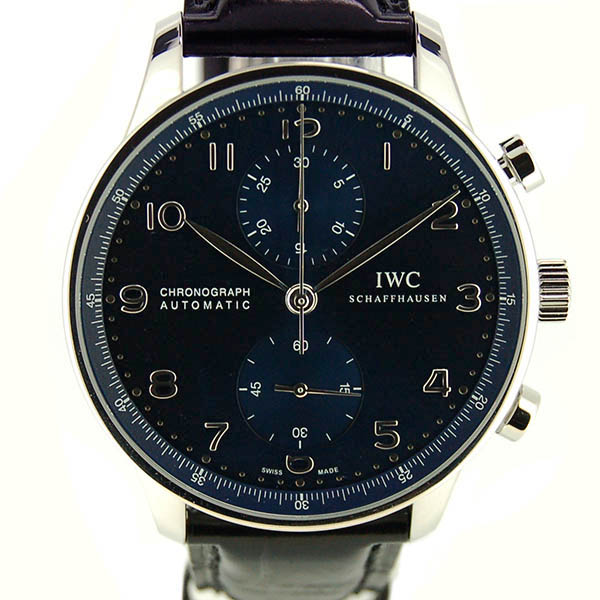 IWC ポルトギーゼ クロノグラフ IW371491 ブルー 新品