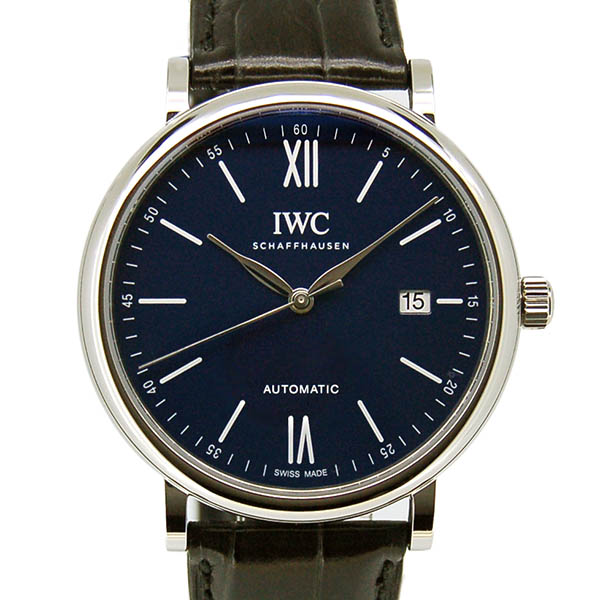 IWC ポートフィノ 150イヤーズ IW356518 ブルー 40mm 革 世界2000本限定 新品