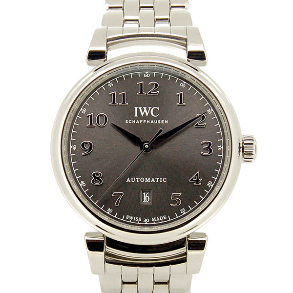 IWC ダ・ヴィンチ オートマティック 40 IW356602 グレー 40mm 新品