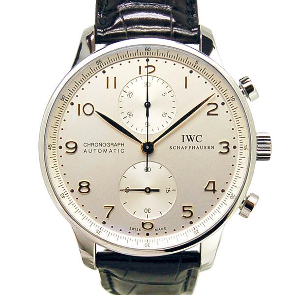 IWC インターナショナルウォッチカンパニー ポルトギーゼ IW371445 シルバー 金針 Dバックル 自動巻 メンズ 新品