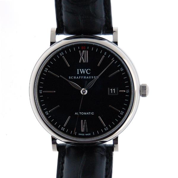 IWC インターナショナルウォッチカンパニー ポートフィノ IW356502 SS 40mm ブラック 新品