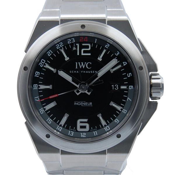 IWC インヂュニア デュアルタイム IW324402 43mm ブラック SS 新品