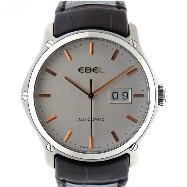 エベル EBEL クラシックヘキサゴン 1216009 メンズ SS シルバー 革 アウトレット 新品