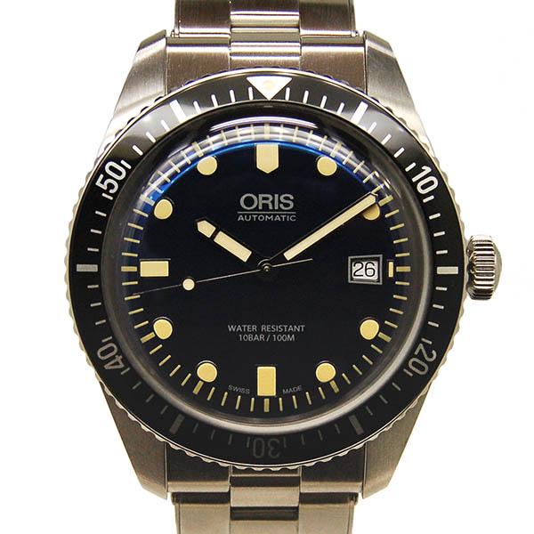 オリス ORIS ダイバーズ65 733 7720 4055M ブルー 42mm SS 新品