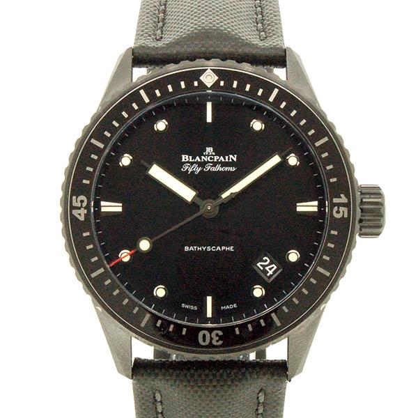 ブランパン BLANCPAIN フィフティファゾムス バチスカーフ 5000-0130-B52A セラミック 43.6mm ブラック 新品