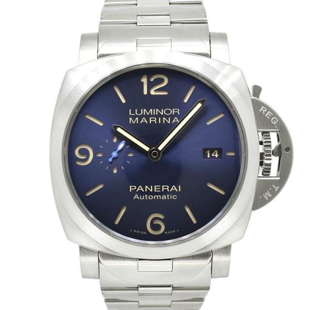 パネライ PANERAI ルミノール マリーナ PAM01058 44mm ブルー 新品