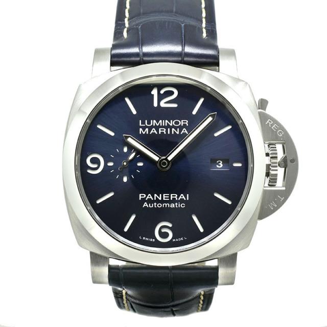 パネライ PANERAI ルミノールマリーナ PAM01313 44mm ブルー 新品