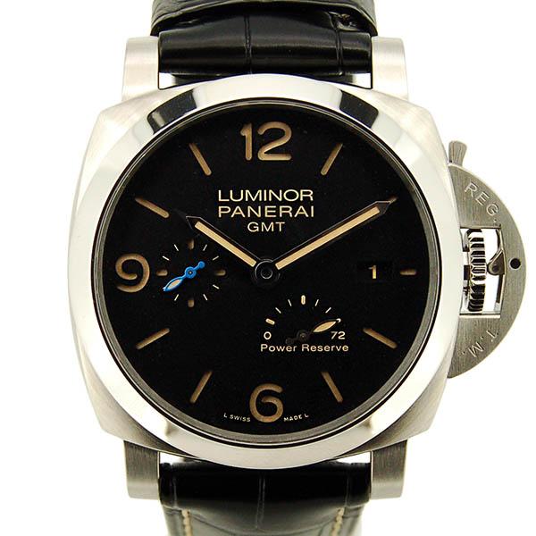 パネライ PANERAI ルミノール1950 3デイズ GMT パワーリザーブ アッチャイオ PAM01321 44mm 新品