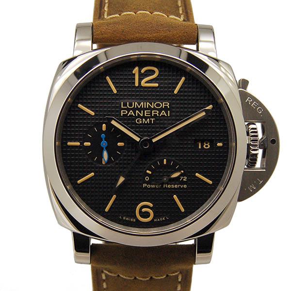 パネライ PANERAI ルミノール1950 3デイズ GMT パワーリザーブ アッチャイオ PAM01537 42mm 新品