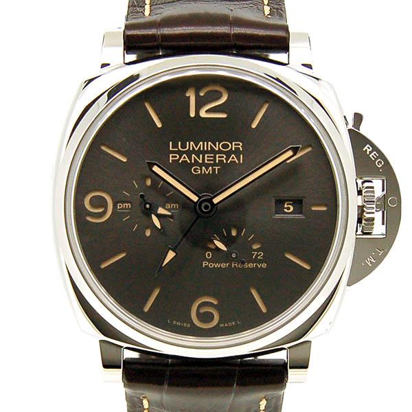 パネライ PANERAI ルミノール ドゥエ 3デイズ GMT パワーリザーブ アッチャイオ PAM00944 45mm 自動巻き 新品