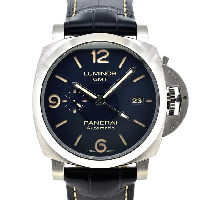 パネライ PANERAI ルミノール GMT PAM01033 44mm ブルー 新品