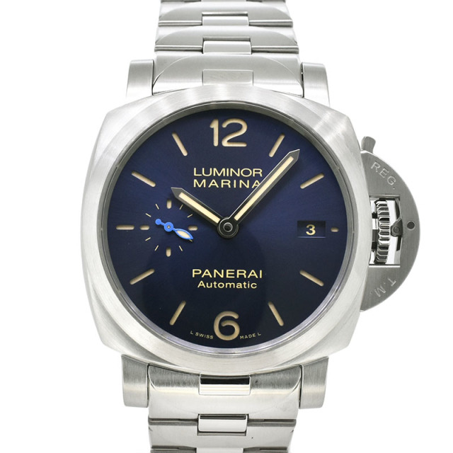 パネライ PANERAI ルミノール マリーナ 42mm PAM01028 ブルー 新品