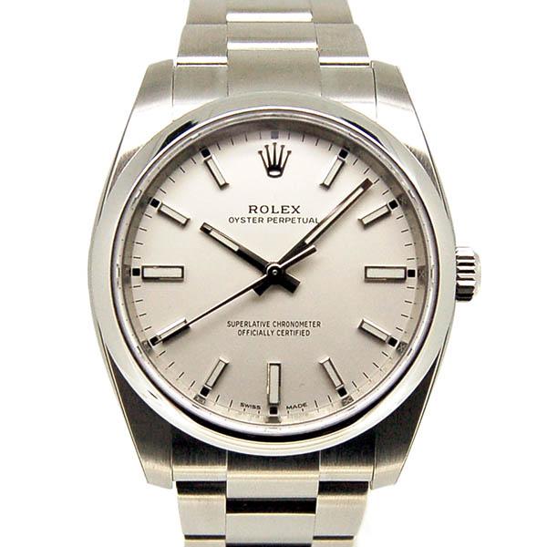 ロレックス ROLEX オイスターパーペチュアル Ref.114200 ホワイト 新品
