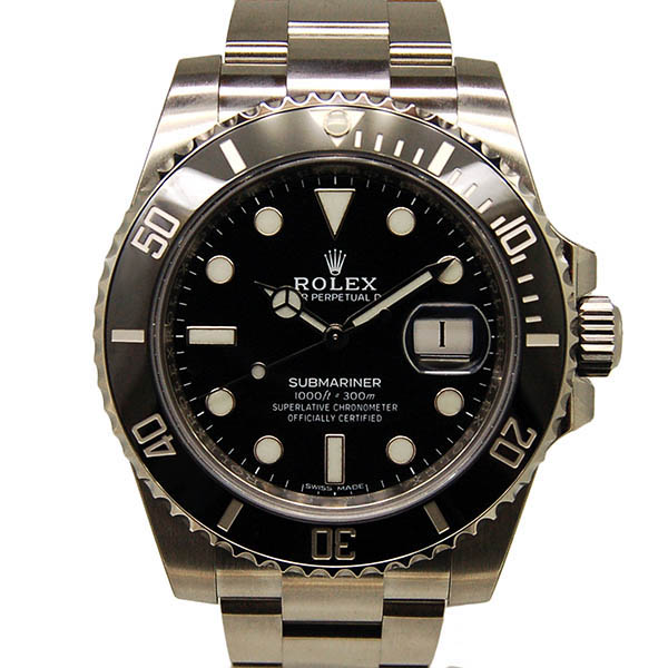 ロレックス ROLEX サブマリーナデイト Ref.116610LN ブラック SS 40mm 新品