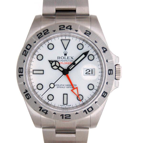 ロレックス ROLEX エクスプローラー2 ホワイト Ref.216570 新型 GMT 新品
