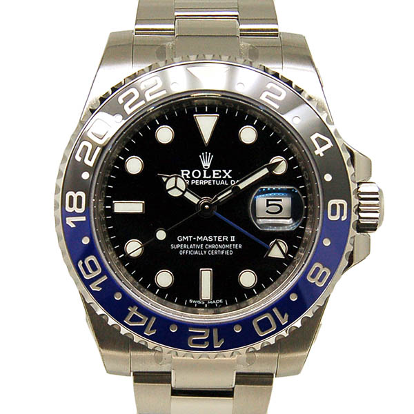 ロレックス ROLEX GMTマスター2 116710BLNR ブルー/ブラック 新品