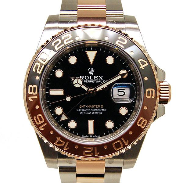 ロレックス ROLEX GMTマスター2 126711CHNR ブラウン/ブラックベゼル 40mm 新品
