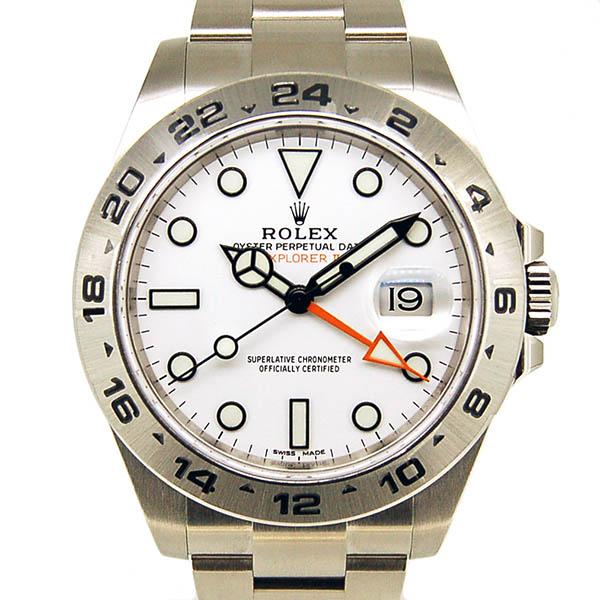 ロレックス ROLEX エクスプローラー2 ホワイト Ref.216570 GMT 新品